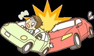交通事故 イラスト