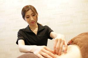 鍼灸の施術